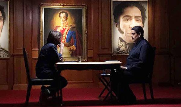 Entrevista con periodista español   Foto: @jordievole