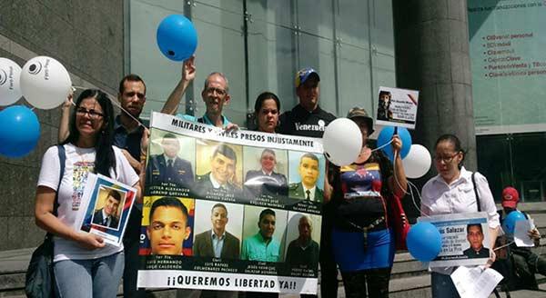 Familiares de los presos políticos | Foto: El Cooperante