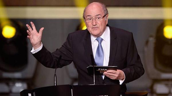 Sepp Blatter, ex presidente de la FIFA