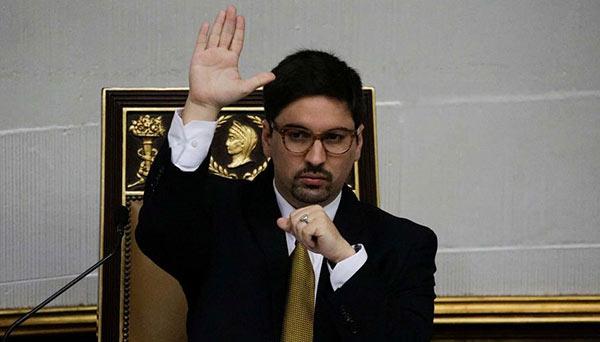 Freddy Guevara, vecepresidente de la Asamblea Nacional | Foto: Andrew Cawthorne