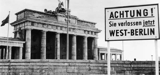 El Muro de Berlín en la época de la Guerra Fría | GETTY IMAGES