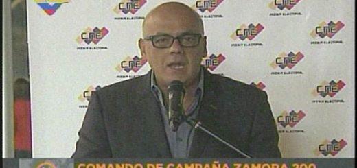 Jorge Rodríguez | Captura de video