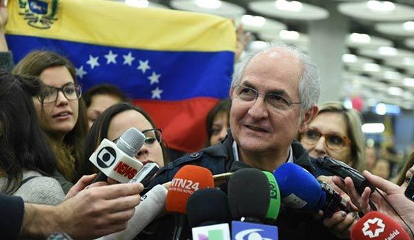 Antonio Ledezma | Foto: EFE