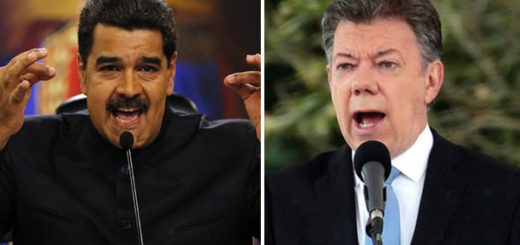 Nicolás Maduro y Juan Manuel Santos | Composición Notitotal