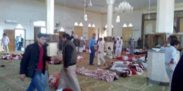 Ataque terrorista a mezquita en Egipto | Foto: EFE