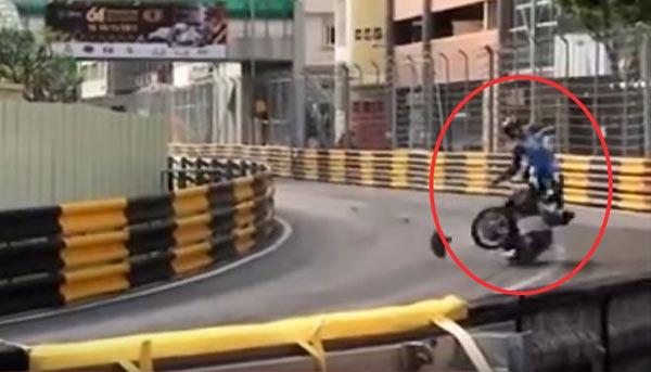 Daniel Hegarty (31) muere en accidente durante el Grand Prix Mónaco | Captura de video