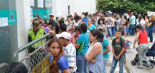 Venezolanos colapsaron la Registraduría de Cúcuta | Foto: La Opinión / Edinsson Figueroa