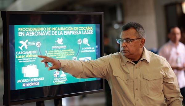 Néstor Reverol, ministro de Interiores Justicia y Paz | Foto: NestorReverol