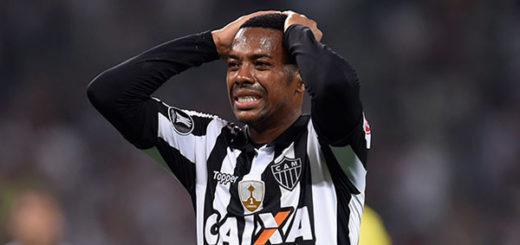 Futbolista brasileño Robinho | Foto referencial