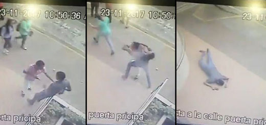 Joven es asesinado para robarle un teléfono   Imagen: Captura de video