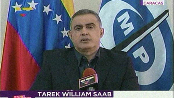 Tarek William Saab | Foto: Captura de video