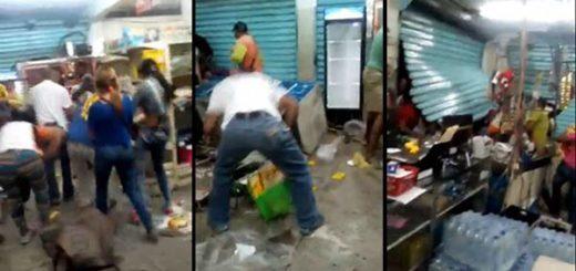 Saqueo de abasto en Yaracuy | Capturas de video