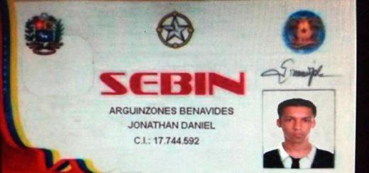 Se hacía pasar por funcionario del SEBIN | Foto: Twitter