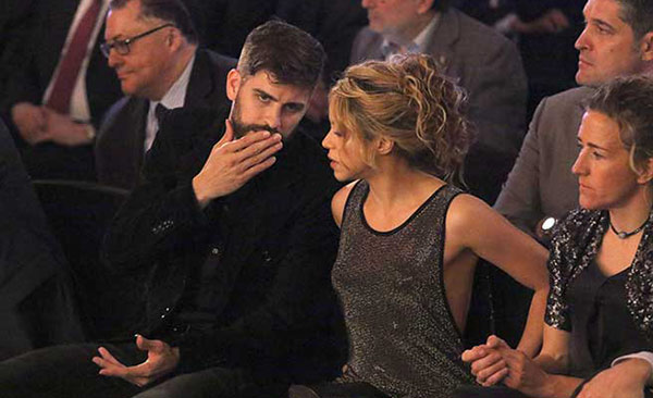 La fuerte discusión que protagonizaron Shakira y Piqué en un restaurante de Barcelona   Referencial