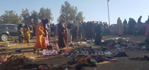 Avalancha humana deja al menos 15 muertos en Marruecos | Foto: @2MInteractive