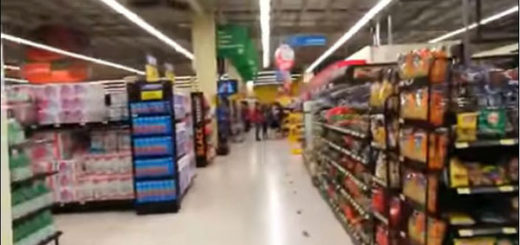 Así se vivió el sismo en Costa Rica en un supermercado
