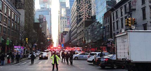 Explosión de Nueva York fue un intento de ataque terrorista