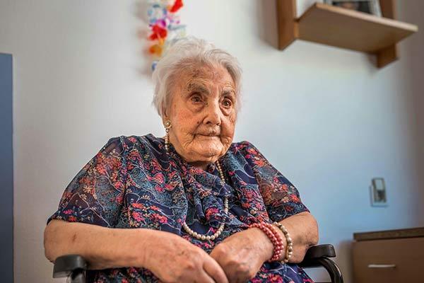 Muere Ana Vela, la mujer más anciana de Europa, a los 116 años | Foto: Charles Ragsdale