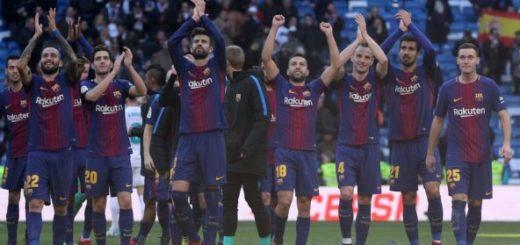 El Barcelona goleó al Madrid en el Clásico |Foto cortesía