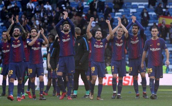 El Barcelona goleó al Madrid en el Clásico  Foto cortesía