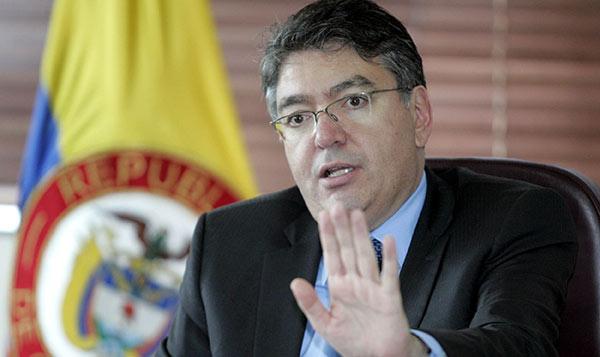 Mauricio Cárdenas, ministro de Hacienda de Colombia   Foto: Archivo