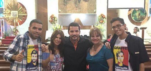Carlos Graffe es liberado |Foto cortesía