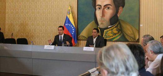 Canciller venezolano, Jorge Arreaza | Foto: @CancilleriaVE