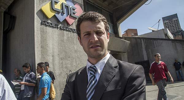 Elías Sayegh, candidato opositor de El Hatillo | Foto: Contrapunto