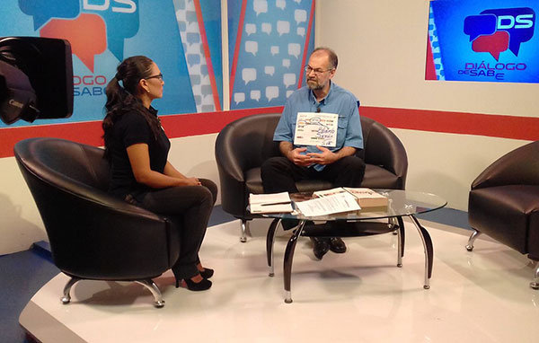 Despidieron a presidente, jefa de prensa y coordinador de ViveTV por entrevista a Eduardo Samán   Foto: @SamanEdu