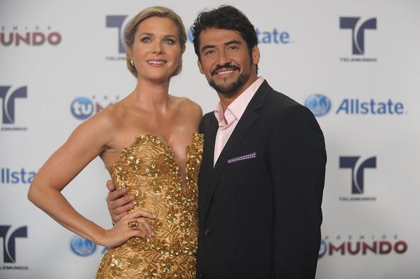 Gabriel Porras junto a su ex, Sonia Smith | Foto: Telemundo