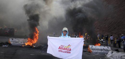 Honduras sumida en protestas |Foto: EFE