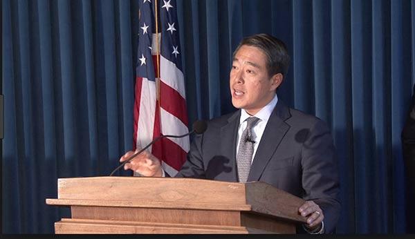 Fiscal de Nueva York, John H. Kim  Foto cortesía