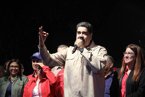 Nicolás Maduro   @PresidencialVen