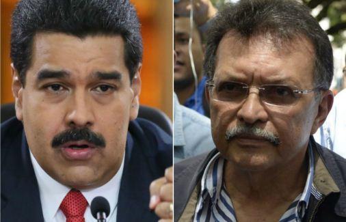 Nicolás Maduro / Germán Ferrer   Imagen referencial