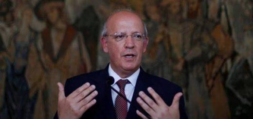 Ministro de negocios extranjeros de Portugal, Augusto Santos Silva | Foto cortesía