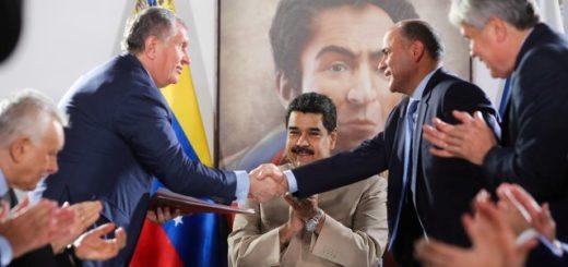 Nicolás Maduro aprobó el traspaso a Rosneft |Foto: Prensa Presidencial