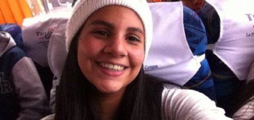 Hija de Oscar Pérez |Foto cortesía
