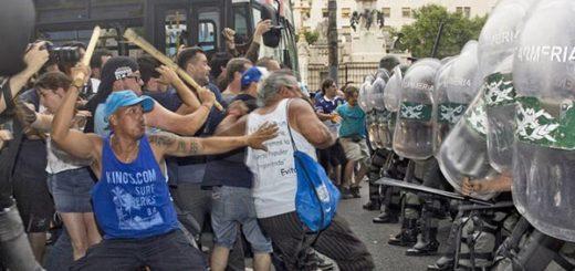 Protesta en Argentina por reforma de pensiones |Foto cortesía