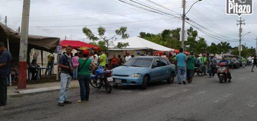 Protesta en Sucre |Foto: El Pitazo