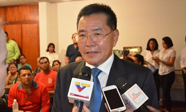 Ri Sung Gil, embajador de Corea del Norte en Venezuela   Foto: Archivo