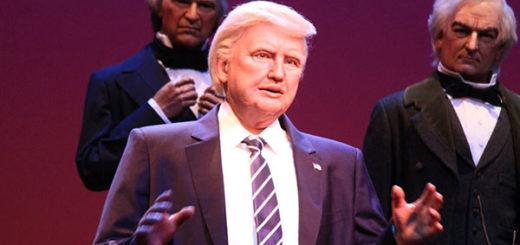 Robot de Donald Trump en Disney | Foto: Cortesía