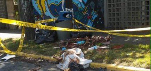 Cadáver hallado en la UCV |Foto cortesía