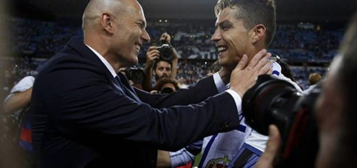 Cristiano Ronaldo y Zinedine Zidane |Foto cortesía