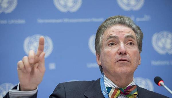 Alfred de Zayas, experto de la ONU |Foto cortesía