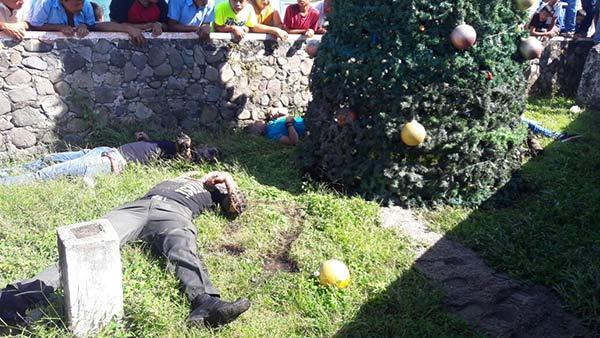 Mueren electrocutados 5 jóvenes mientras adornaban árbol de Navidad | Foto: Twitter