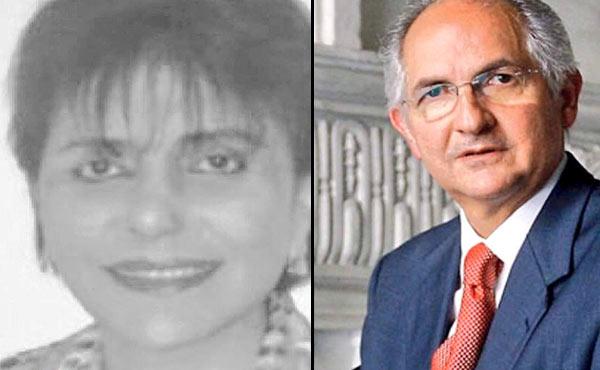 Carmen Andarcia privada de libertad por caso Ledezma | Imagen: La Patilla