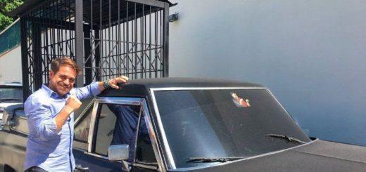 Carro de Drácula del gobernador Rafael Lacava   Foto: El Impulso