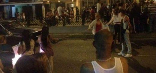 Vecinos de Catia en protesta |Foto: NoticieroDigital