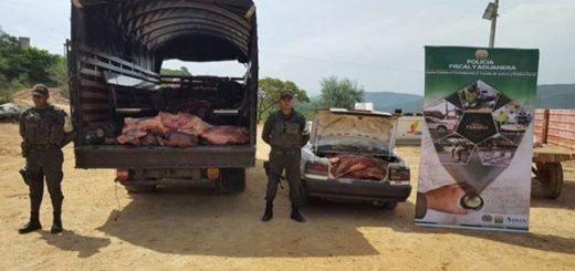 Contrabando de carne desde Venezuela |Foto: El Nacional