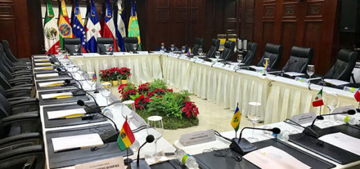 Representantes del Gobierno y oposición están en Dominicana para iniciar diálogo | Foto: Cancillería República Dominicana